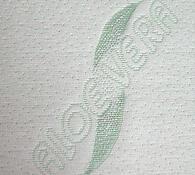 Pěnová sendvičová matrace do postele, bílá, 85 x 195 cm