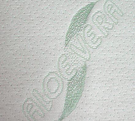 Pěnová sendvičová matrace do postele, bílá, 90 x 200 cm
