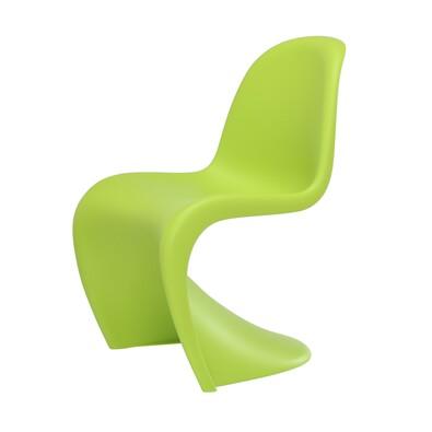 Židle Panton Junior, tmavá limeta