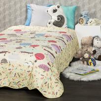 4Home Narzuta na łóżko dla dzieci Balloon, 140 x 200 cm