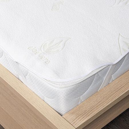 4Home Aloe Vera gumifüles matracvédő, 140 x 200 cm