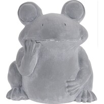 Béka cement virágtartó, 23,5 cm