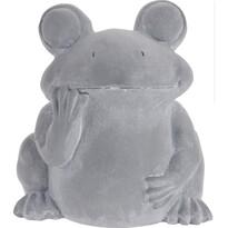 Cementový kvetináč Žaba, 23,5 cm