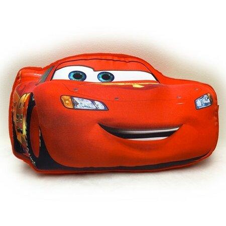3D párna Cars McQueen, 34 x 20 cm