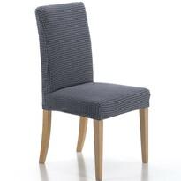 Multielastyczny pokrowiec na krzesło Sada, niebieski, , 40 - 50 cm, zestaw 2 szt.
