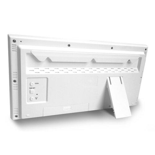 Lavvu LCX0010 digitálne hodiny riadené rádiovým signálom Modig, biela