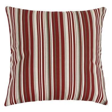 Ivo csíkos párna, piros, 45 x 45 cm