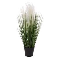 Umělá kvetoucí tráva Margot, 46 cm