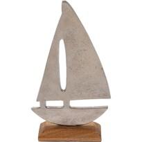 Kovová dekorace Boat, 22 cm