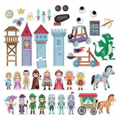 Headu Hracia sada s puzzle Môj vymyslený svet Rytiersky hrad