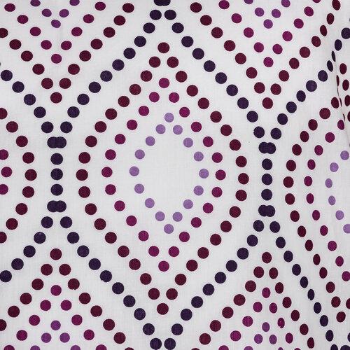 Ágyneműhuzat Retro violet 1 + 1, 140 x 200 cm, 70 x 90 cm