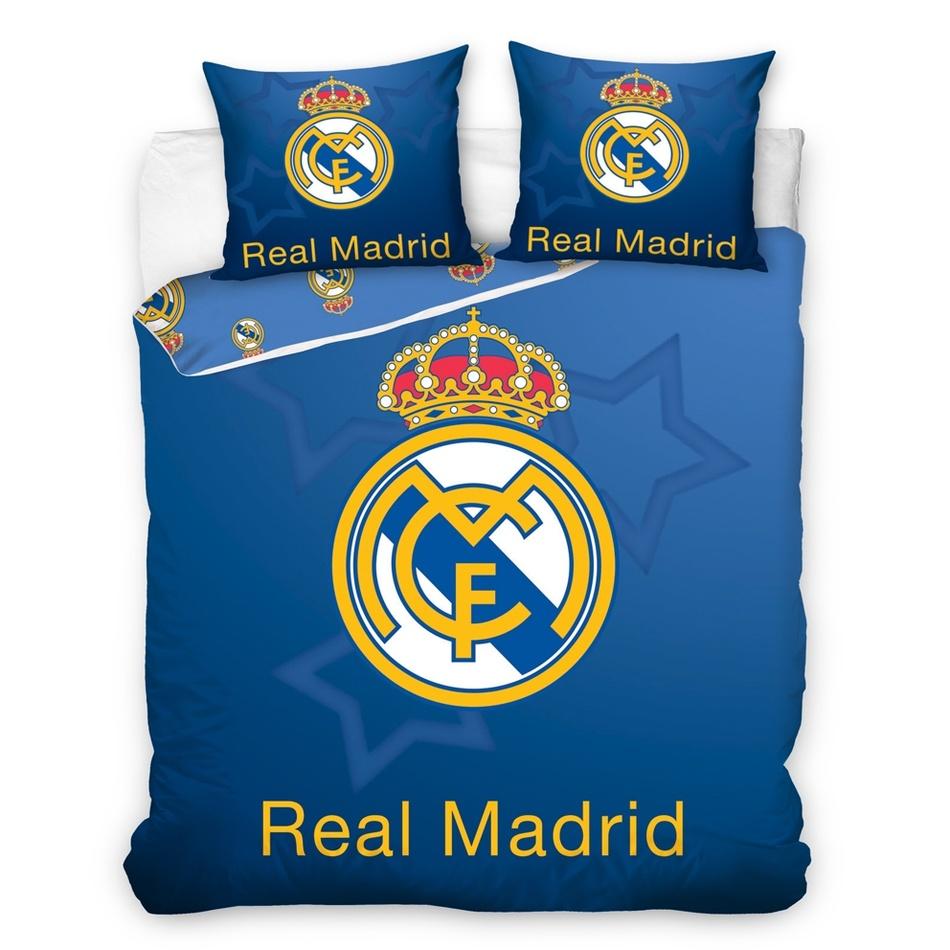 Dětské Bavlněné povlečení Real Madrid Blue