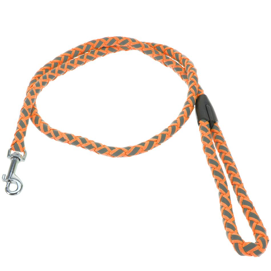 Vodítko pro psa Neon oranžová, vel. S