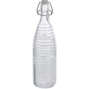 Skleněná láhev s uzávěrem Stripes