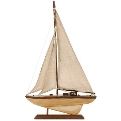 Dekorace na poličku loďka