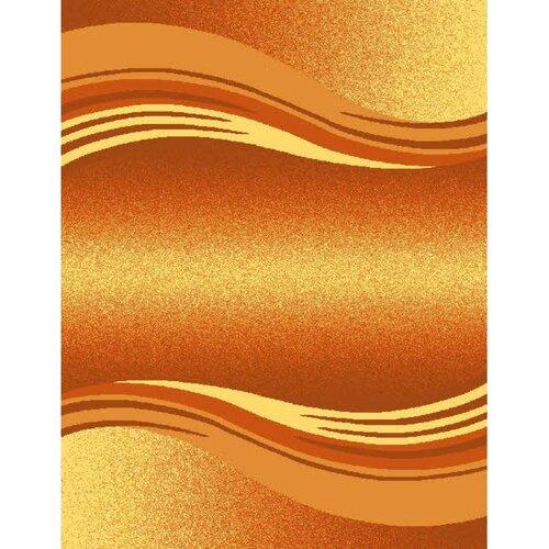 Spoltex Kusový koberec Enigma 9358 Orange, 80 x 150 cm
