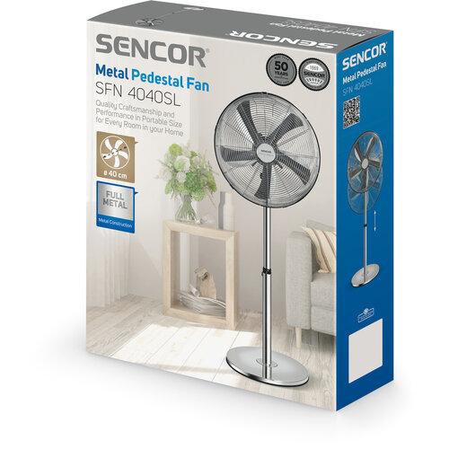 Sencor SFN 4040SL stojanový ventilátor, nerez