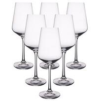Crystalex 6-dielna sada pohárov na biele víno SANDRA, 0,35 l