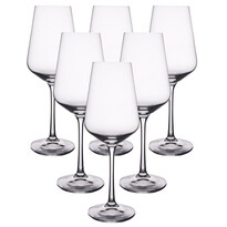 Set 6 pahare de vin alb Crystalex SANDRA,0,35 l