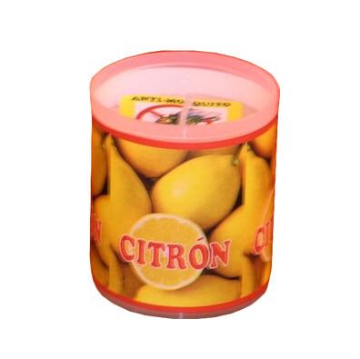 Repelentní svíčka s vůní citrónu