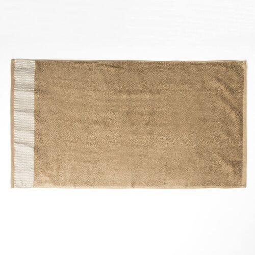 Osuška Geel tmavě béžová, 70 x 130 cm