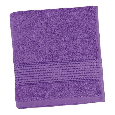 Prosop Kamilka dungă violet, 50 x 100 cm