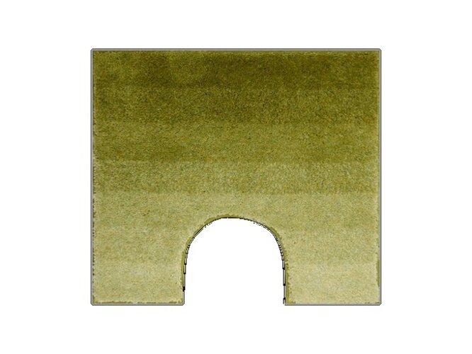 WC predložka Grund RIALTO zelená, 55 x 50 cm