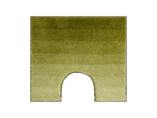 Grund WC predložka RIALTO zelená, 55x50cm