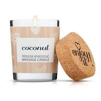 Enjoy it! Masážna sviečka Coconut, 70 ml