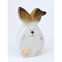Velikonoční keramický zajíček Floret, 14,5 cm