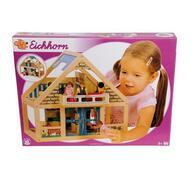 Dřevěný domeček s nábytkem Eichhorn