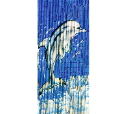 Bambusové závesy delfín