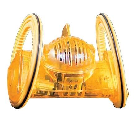 Desk Pets Trekbot DP-TRB-1821, žlutá