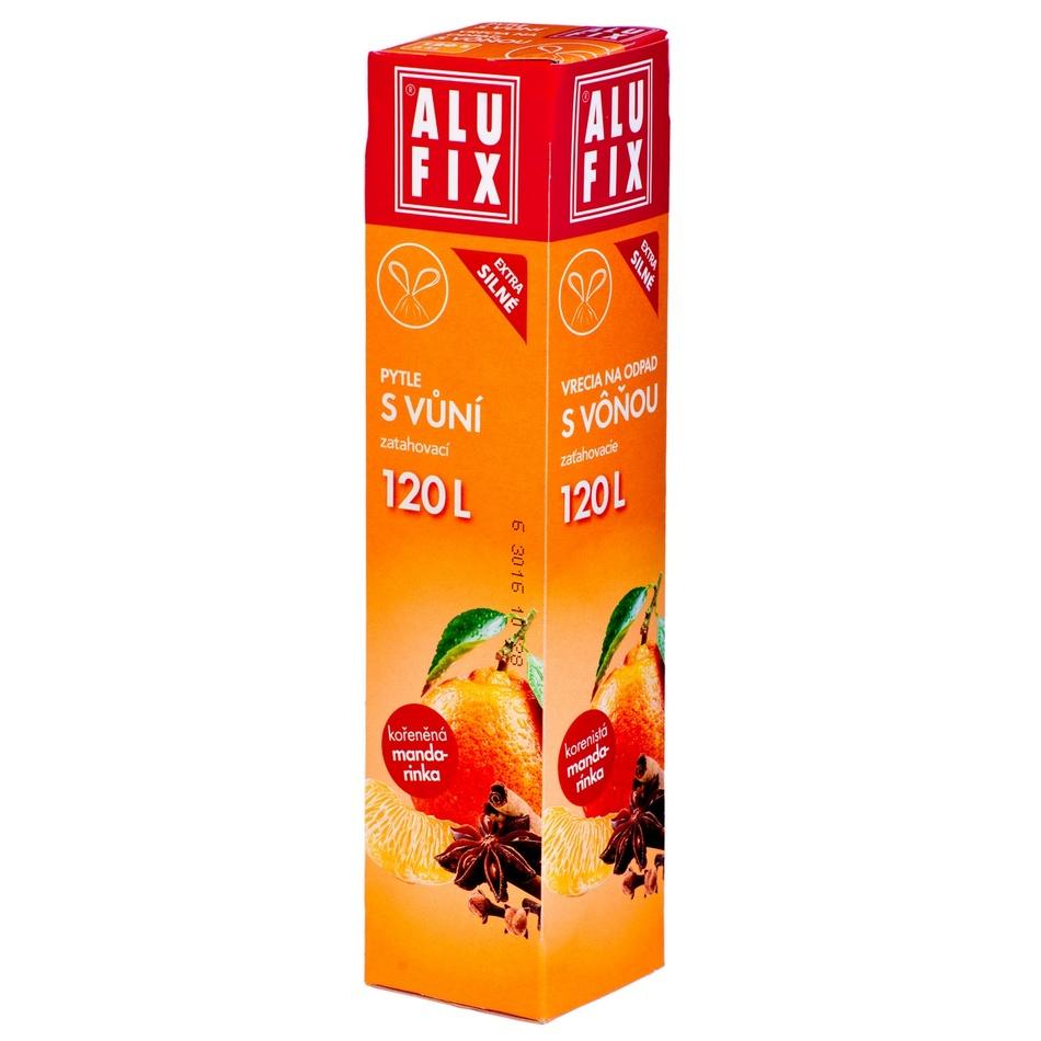 Alufix Pytle na odpad s vůní mandarinky, 120 l