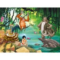 Fototapeta dziecięca XXL Księga dżungli 360 x 270 cm, 4 części