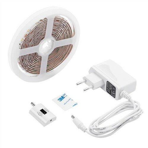 Solight LED stmívatelný pásek s bezdotykovým ovládáním, 3m, 180 LED, 4000K, IP65, 230V WM505