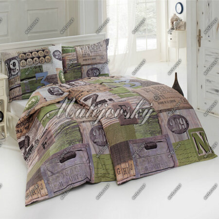 Matějovský bavlnené obliečky Country, 140 x 200 cm, 70 x 90 cm