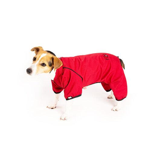"""Obleček - Kombinéza softshell """"STOP KLÍŠTĚ""""červená 32 cm, 32 cm"""