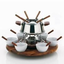 Kela 23-częściowy komplet fondue ARMATA, stal nierdzewna
