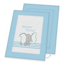 Detská hracia deka Dumbo Ready to fly, 100 x 135 cm
