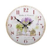 Nástěnné hodiny Levandule HLC18119