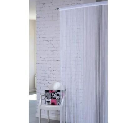 Záclona SPAGHETTI, 150 x 250 cm, bílá