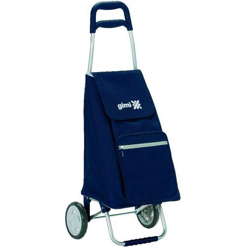 Gimi Argo Nákupní taška na kolieskach modrá
