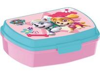 Svačinový box Paw Patrol Skye 17,5 x 14,5 x 6,5 cm, růžová