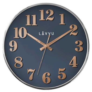 Nástěnné hodiny Lavvu Home Blue LCT1164 modrá, pr. 32 cm