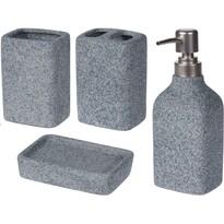 Kúpeľňová sada Concrete, 4 ks
