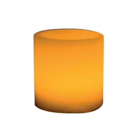 Solight Vosková LED svíčka žlutá