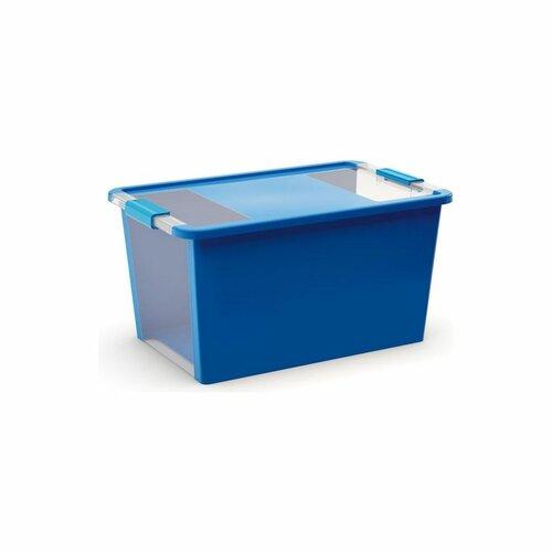 KIS Úložný box Bi Box L 40 l, modrá