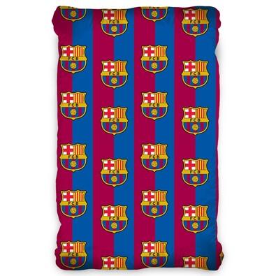 FC Barcelona pamut lepedő, 90 x 200 cm
