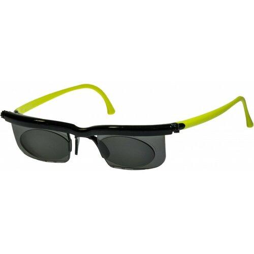 Nastavitelné dioptrické sluneční brýle Modom Adlens zelené KP203Z